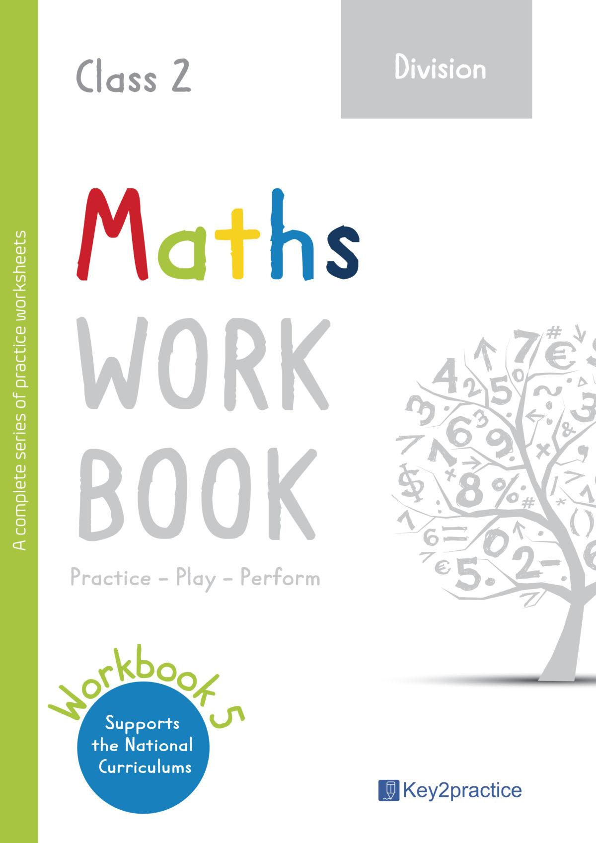 Division Worksheets Grade 2 I Maths Key2practice Workbooks