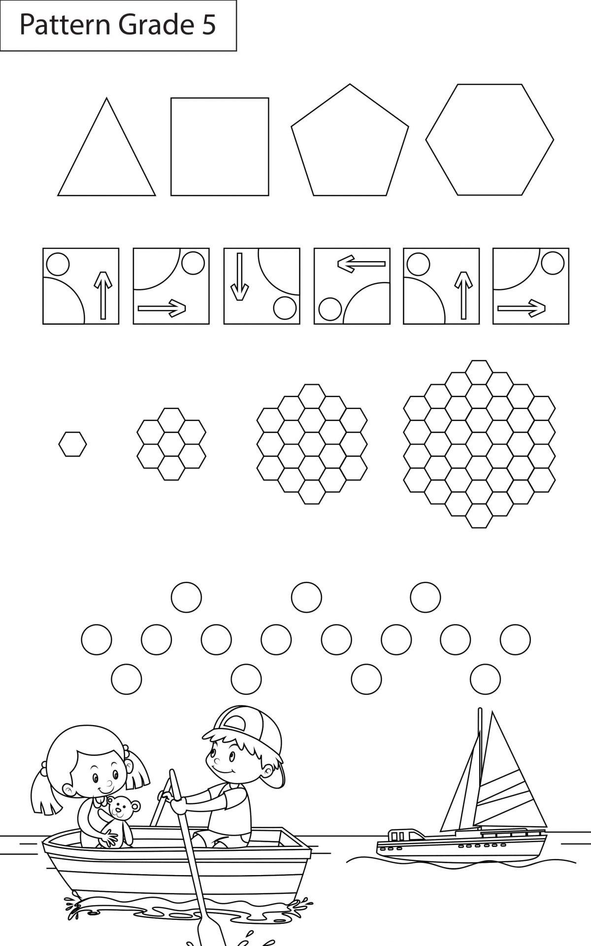 Patterns Worksheets Grade 5 I Maths - key2practice Workbooks