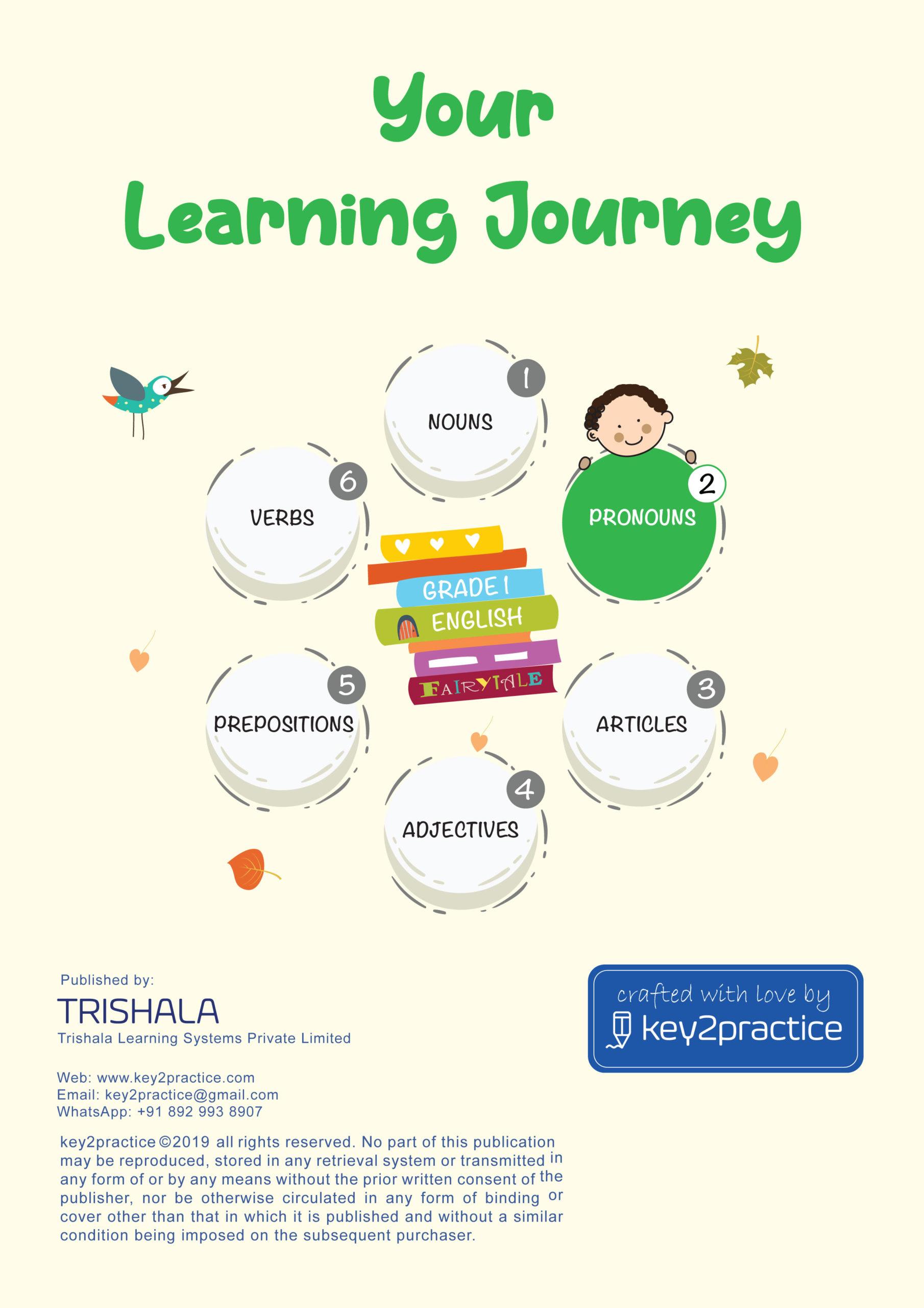 Pronouns Worksheets Grade 2 I English Key2practice Workbooks